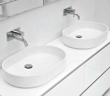 Väggmonterad blandare tvättställ